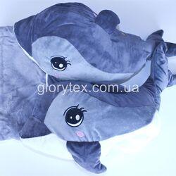 Подушка-трансформер детская 3 в 1 Дельфинчик арт.0008