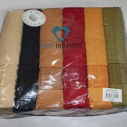 """Полотенце махровое 70х140 """"Two Dolphins"""" Турция"""