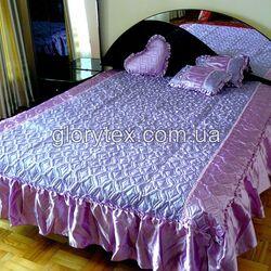 "Покрывало атласное с подушками ""Timonin"""