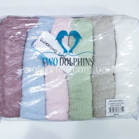 Полотенце для сауны махровое 90x150 Two Dolphins арт.2162