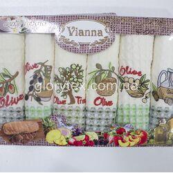 Набор кухонных х/б полотенец 50x70 Vianna арт.2211