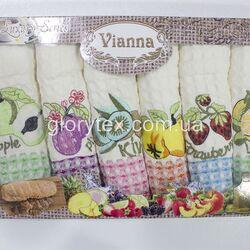 Набор кухонных х/б полотенец 50x70 Vianna арт.2212