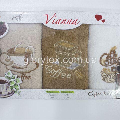 Набор махровых кухонных полотенец 30x50 Vianna арт.2222
