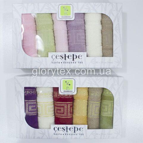 Набор кухонных бамбуковых полотенец 30x60 Cestepe арт.2231