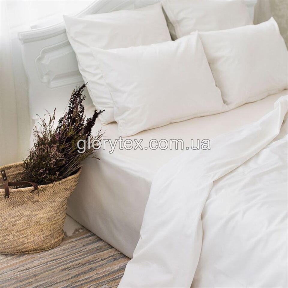 f479f45b77de Купить белый однотонный постельный комплект полуторный