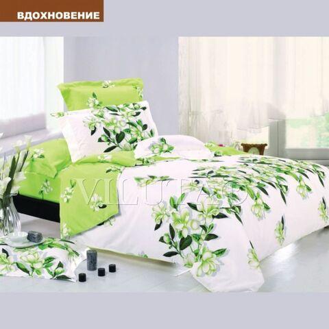 Вдохновение Евро комплект постельного белья Вилюта Ранфорс
