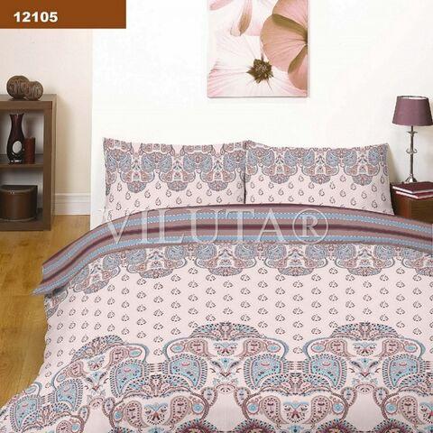 12105 Евро комплект постельного белья Вилюта Платинум