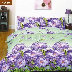 12130 Двуспальный комплект постельного белья Вилюта Платинум