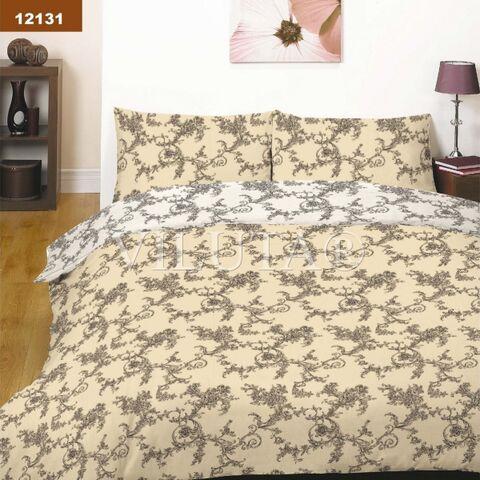 12131 Двуспальный комплект постельного белья Вилюта Платинум