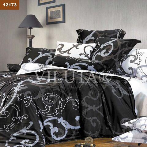 12173 Двуспальный комплект постельного белья Вилюта Ранфорс