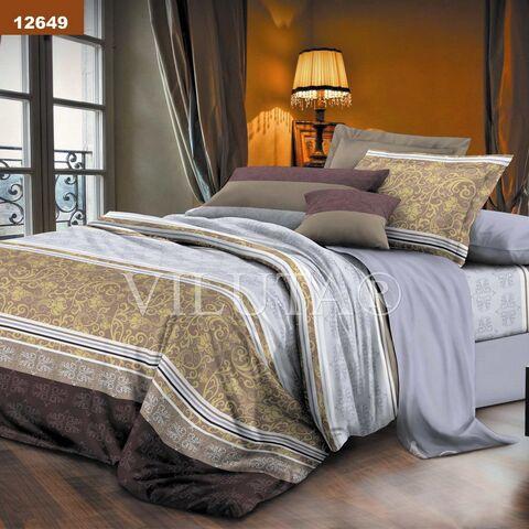 12649 Евро комплект постельного белья Вилюта Платинум