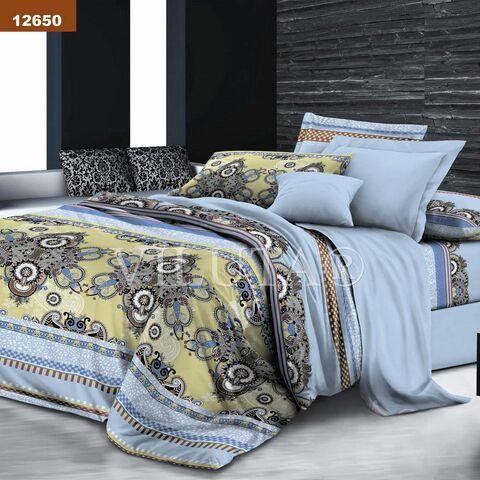 12650 Евро комплект постельного белья Вилюта Платинум