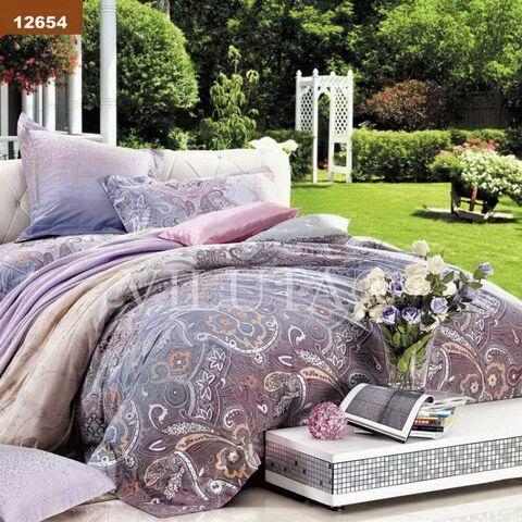 12654 Семейный комплект постельного белья Вилюта Ранфорс
