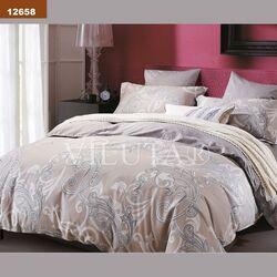 12658 Двуспальный комплект постельного белья Вилюта Ранфорс