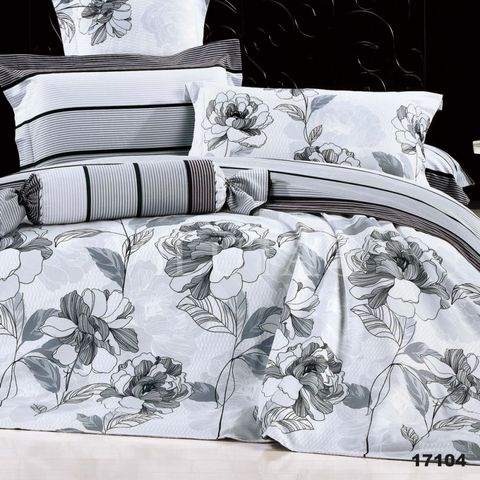 17104 Двуспальный комплект постельного белья Вилюта Ранфорс