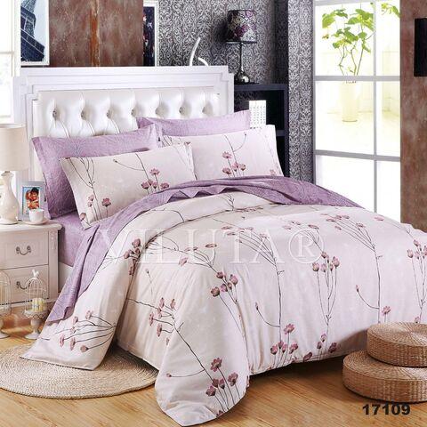 17109 Двуспальный комплект постельного белья Вилюта Ранфорс