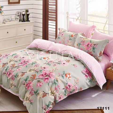 17111 Семейный комплект постельного белья Вилюта Ранфорс