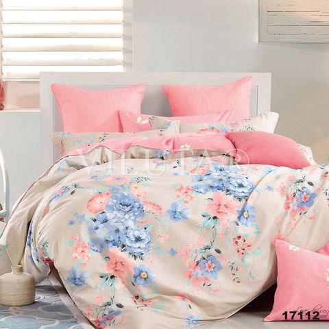17112 Двуспальный комплект постельного белья Вилюта Ранфорс