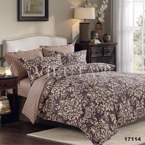 17114 Двуспальный комплект постельного белья Вилюта Ранфорс