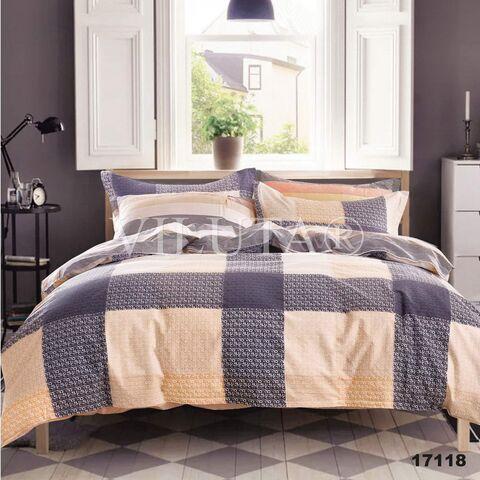 17118 Полуторный комплект постельного белья Вилюта Ранфорс