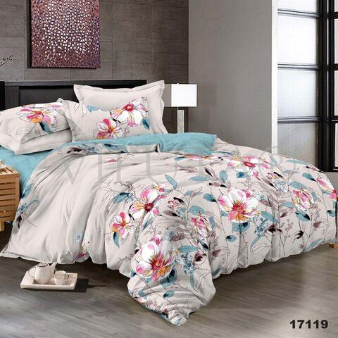 17119 Семейный комплект постельного белья Вилюта Ранфорс