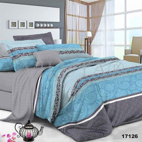 17126 Семейный комплект постельного белья Вилюта Ранфорс