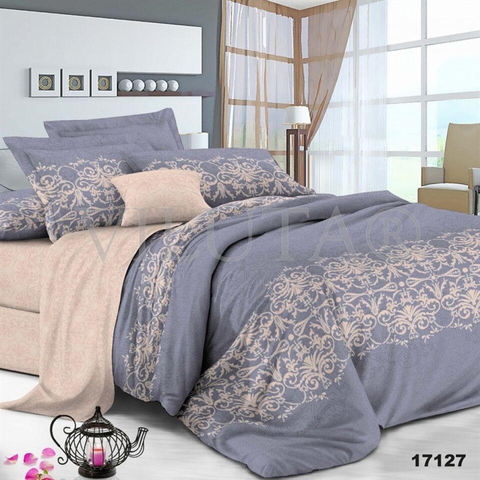 17ab98f0c1b6 Купить комплект постельного белья Вилюта Ранфорс Евро 17127 недорого ...