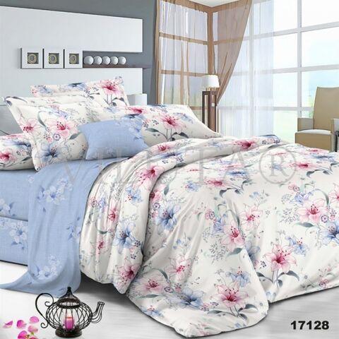17128 Семейный комплект постельного белья Вилюта Ранфорс