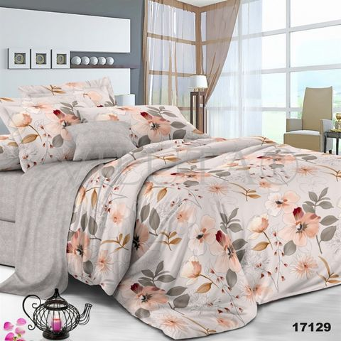 17129 Двуспальный комплект постельного белья Вилюта Ранфорс