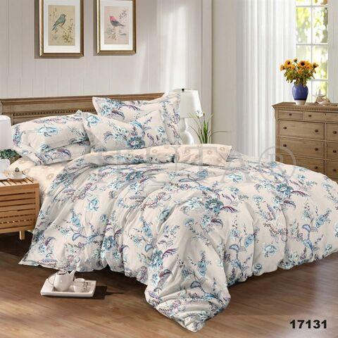 17131 Двуспальный комплект постельного белья Вилюта Ранфорс