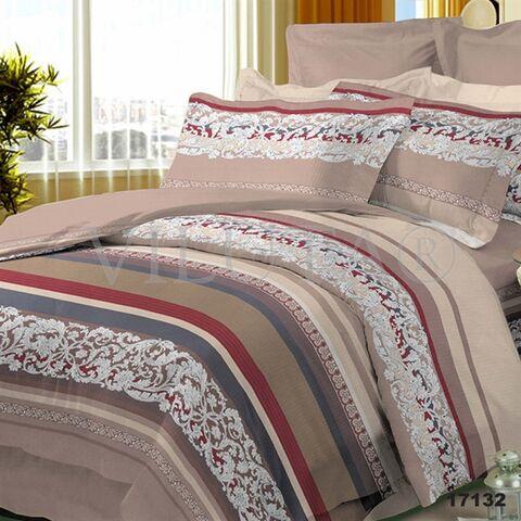 17132 Двуспальный комплект постельного белья Вилюта Ранфорс