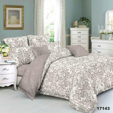 17143 Двуспальный комплект постельного белья Вилюта Ранфорс