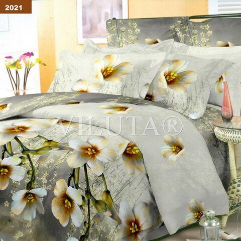 2021 Двуспальный комплект постельного белья Вилюта Платинум