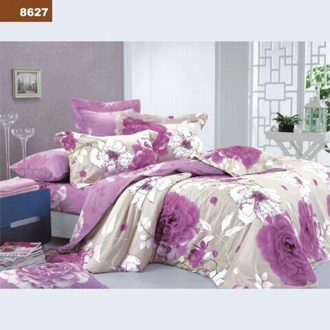 8627 Двуспальный комплект постельного белья Вилюта Ранфорс