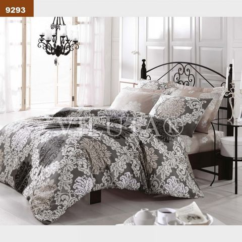 9293 Двуспальный комплект постельного белья Вилюта Платинум