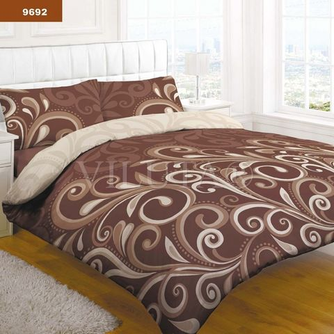 9692 Семейный комплект постельного белья Вилюта Платинум