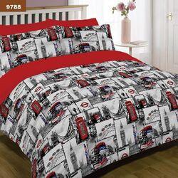 9788 Семейный комплект постельного белья Вилюта Платинум