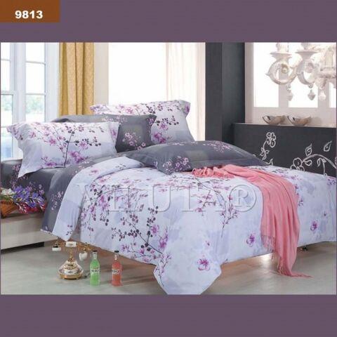 9813 Двуспальный комплект постельного белья Вилюта Ранфорс