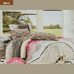 9814 Двуспальный комплект постельного белья Вилюта Ранфорс