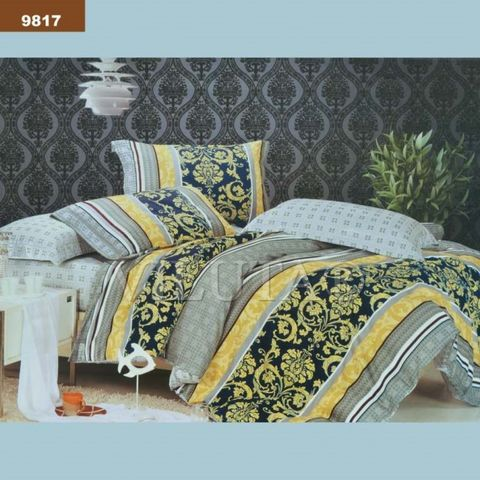 9817 Полуторный комплект постельного белья Вилюта Ранфорс