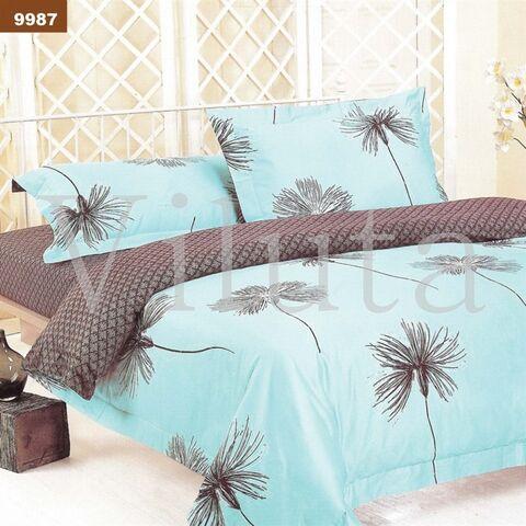 9987 Двуспальный комплект постельного белья Вилюта Ранфорс