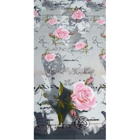 Ткань бязь Gold Пакистан Розы, арт.NT2200
