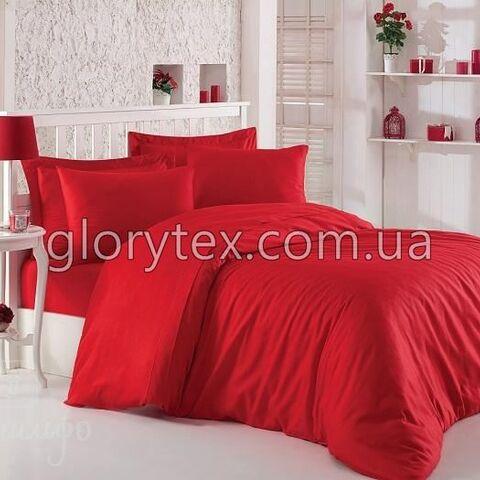 """Красная однотонная ткань """"Red"""" бязь Gold Пакистан арт.UXT-13"""