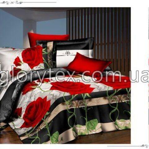 Ткань Полиэстер Розы 75 г/м² арт.NT2312